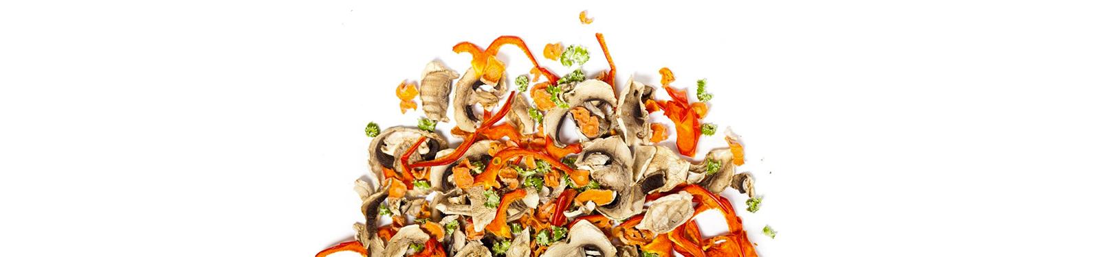 Mélange de légumes colorés