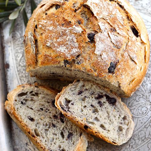 Miche de pain aux céréales